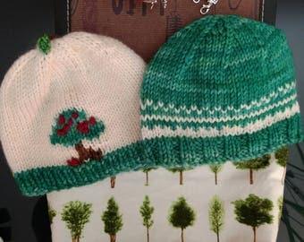 Apple Tree Baby Hat