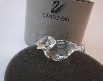Genuine Swarovski crystal Mini SPARROW Frosted Beak 7650 NR 000 001 MINT