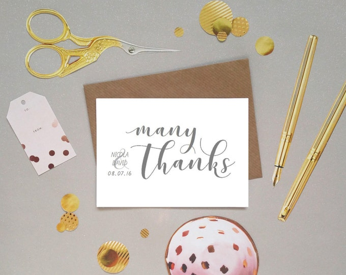 Thank You cards Love in an Invitation – Wedding Thank You Cards Uk