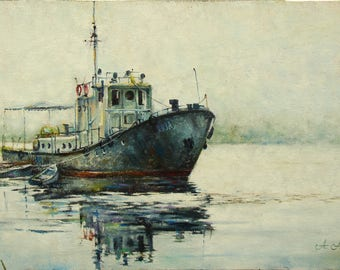 The Dnieper backwater
