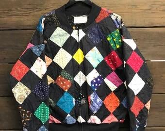 1994 custom quilted varsity jacket