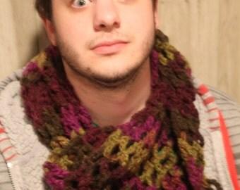 Versatile Fashion Crochet Scarf or Shawl