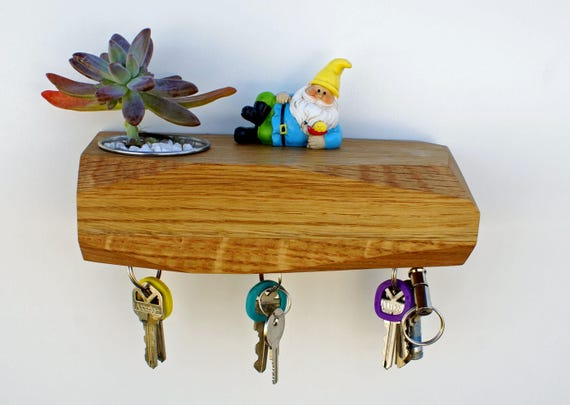 Urb - Wall Mounted Succulent Planter and Magnetic Key Rack