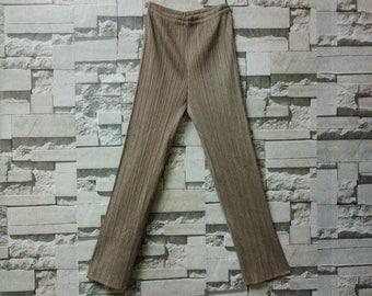 vintage Issey miyake pleats please pants flexible plantation yohji yamamoto comme des garçons junya Watanabe runway fashion designer