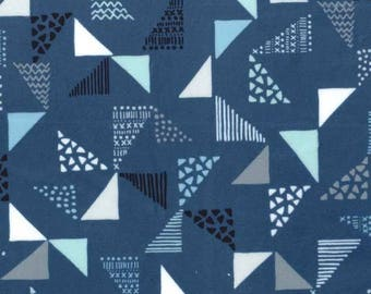 Michael Miller Fabric - Just Right - Navy - CX7380 - Cotton fabric by the yard