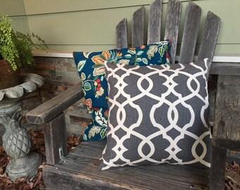 Spring garden pillow covers