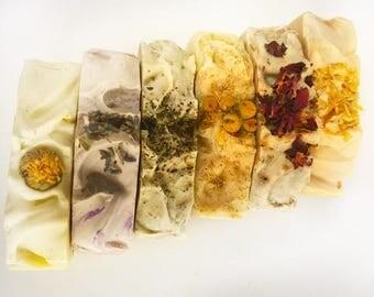 Herbal Soap Bar Collection - 6 Pieces - 5 oz each