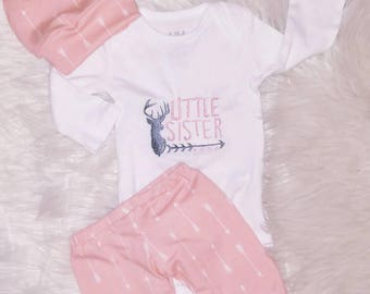 Coming Home Baby Girl Outfit