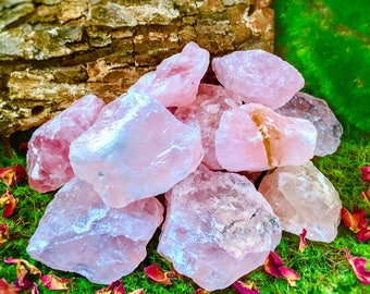 Rose Quartz Chunk - Small or Medium