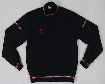 Vintage Adidas Jacket Adidas Track Top Adidas Trefoil JASPO Descente