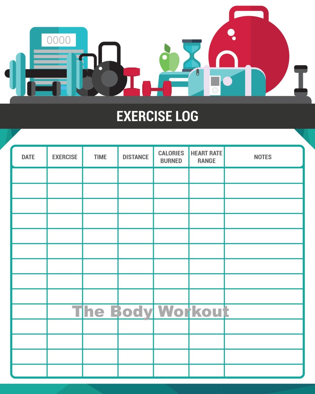 fitness log