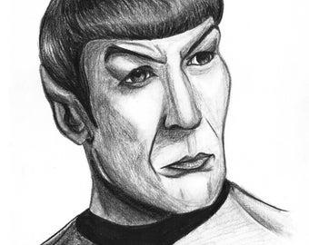 Print of Leonard Nimoy Spock
