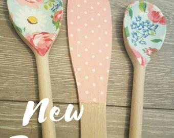 Decorative Spoon and Spatula Set in New Cath Kidston Design