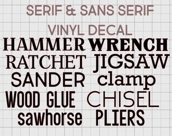Manly Decals Etsy - Vinyl custom decals