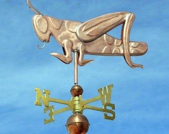 Copper Grasshopper Weathervane - BH-WS-232