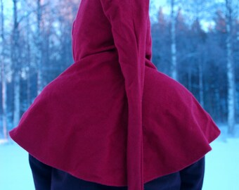 Medieval hood, liripipe hood