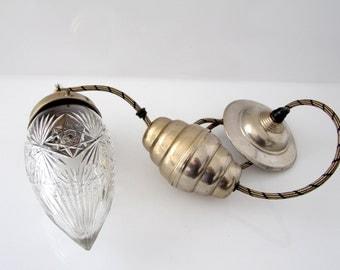 "Gorgeous lamp ""art deco"" , adjustable ceiling lamp, starburst pattern"