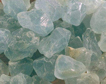 2 celestite crystals natural celestite blue celestite healing crystal raw mineral natural celestite crystal  blue celestine jewelry supplies