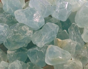 2 celestite crystals natural celestite blue celestite healing crystal raw mineral natural celestite crystal  blue celestine jewelry supplies