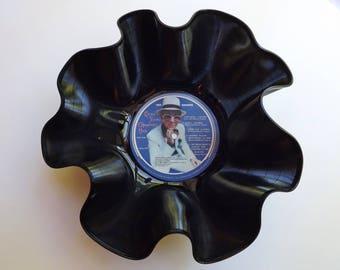 Elton John Record Bowl melted vinyl photo label Greatest Hits vintage album