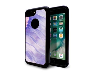 iphone 7 case heavy duty case back cover for apple iphone 7 iphone 7 plus purple ripple