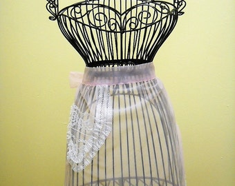 Vintage Pink Hostess/Honeymoon Apron