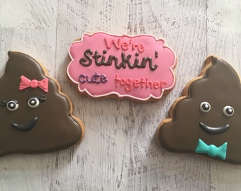 We're So Stinking Cute Together Cookie Set