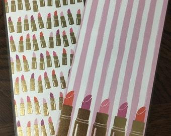 Lipstick mini dashboard set