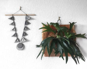 Handmade Triangle Wall Hanging