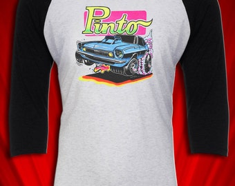 Ford Pinto Vintage 1973 Hot Rod Muscle Mopar Tee