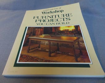Woodworking Projects, Furniture Projects You Can Build from Canadian Workshop, Rodale Press 1989
