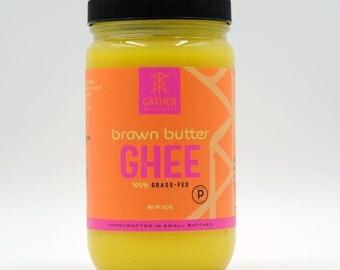 100% Grass Fed - Brown Butter Ghee - Certified Paleo 32oz