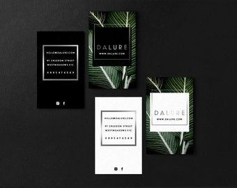 Dalure • Premade Minimalist Natural Business Card Design