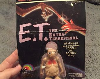 E.T. the Extraterrestrial wind up action figure