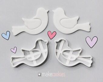 Love Birds Cookie Cutters Set (2 pcs)