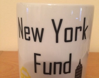 New York Fund Ceramic money box