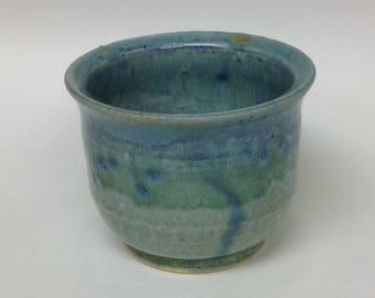 Handmade ceramic bowl, wheel thrown pottery, bowl, handmade ceramics, pottery, blue bowl