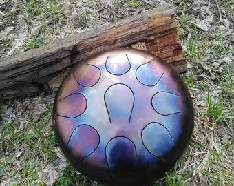 Steel tongue drum handpan Pygmy B