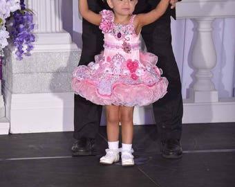 ON SALE National Level Glitz Pageant Dress