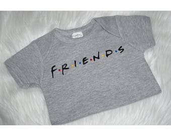 Friends - Friends TV Show - Friends Tv Show Onesie - Friends Onesie - Friends Show Shirt - Friends Show Shirt - Friends - Baby Shower Gift