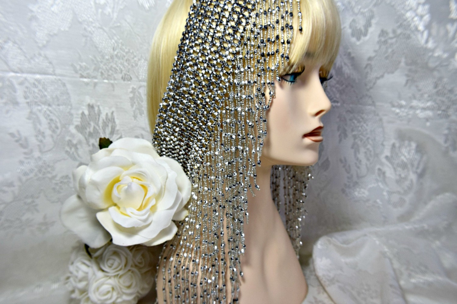 GREAT GATSBY Headpiece Gatsby Headband FLAPPER 1920s Roaring