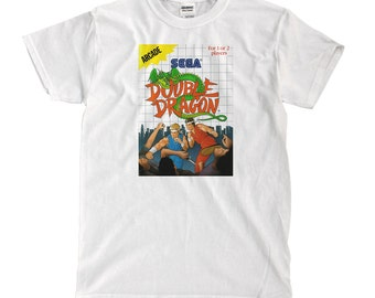 Double Dragon - Sega - White T-shirt