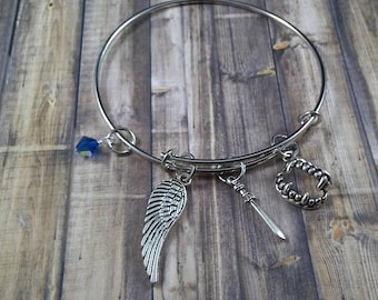 Group 8 YA Book Fandom Inspired Charm Bracelets