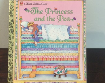 The Princess and the Pea A Little Golden Book 1994