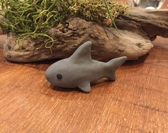 Polymer Clay Shark Etsy