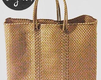Oaxaca bag tote recycled plastic vegan