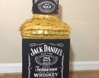 Bottle Whiskey Pinata adults.  Party Decorations and Supplies