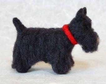 Scottish Terrier - Needle felted Dog