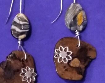Earrings original hand made