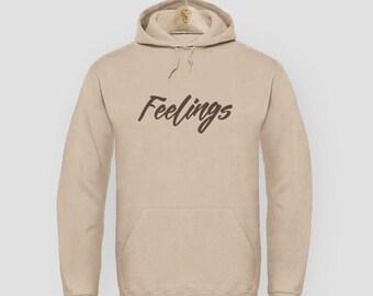 Sweatshirt Hoodie swag fashion hip hop Feelings Sand